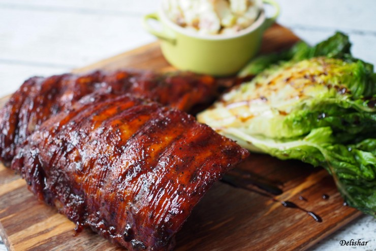 Slow Cooked BBQ Ribs 1