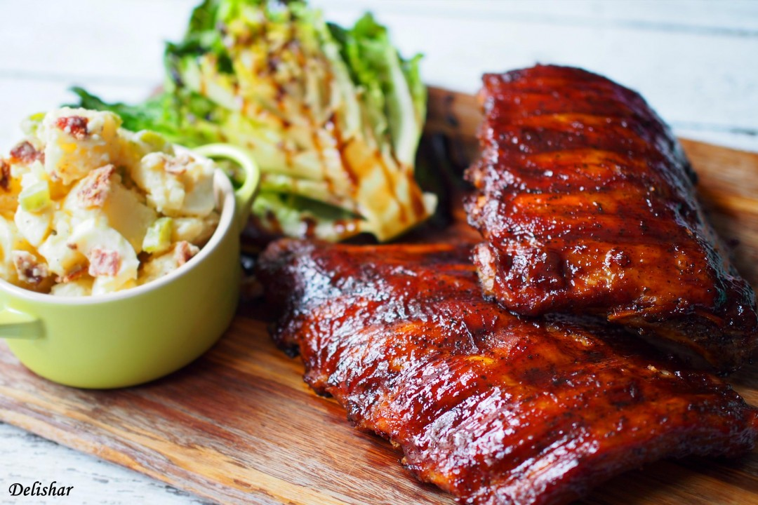 Slow Cooked BBQ Ribs 4