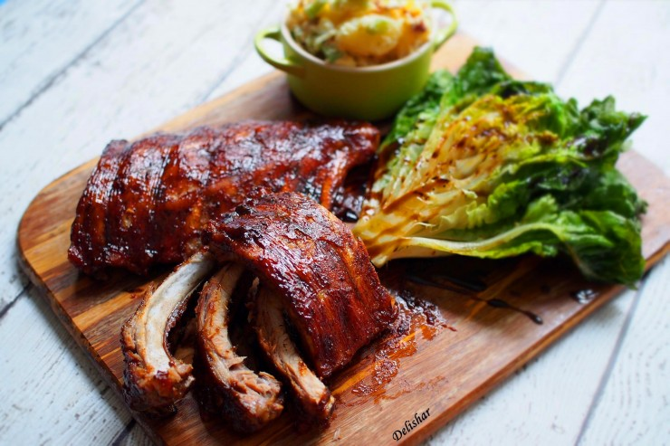 Slow Cooked BBQ Ribs 6