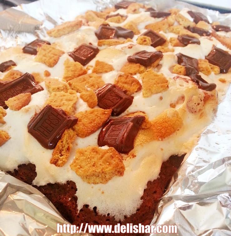 smores milo brownies 1
