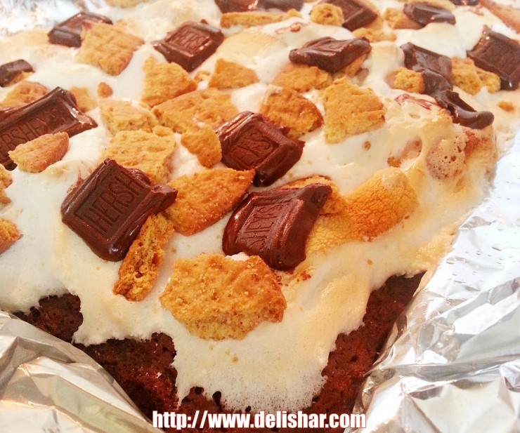 smores milo brownies 4