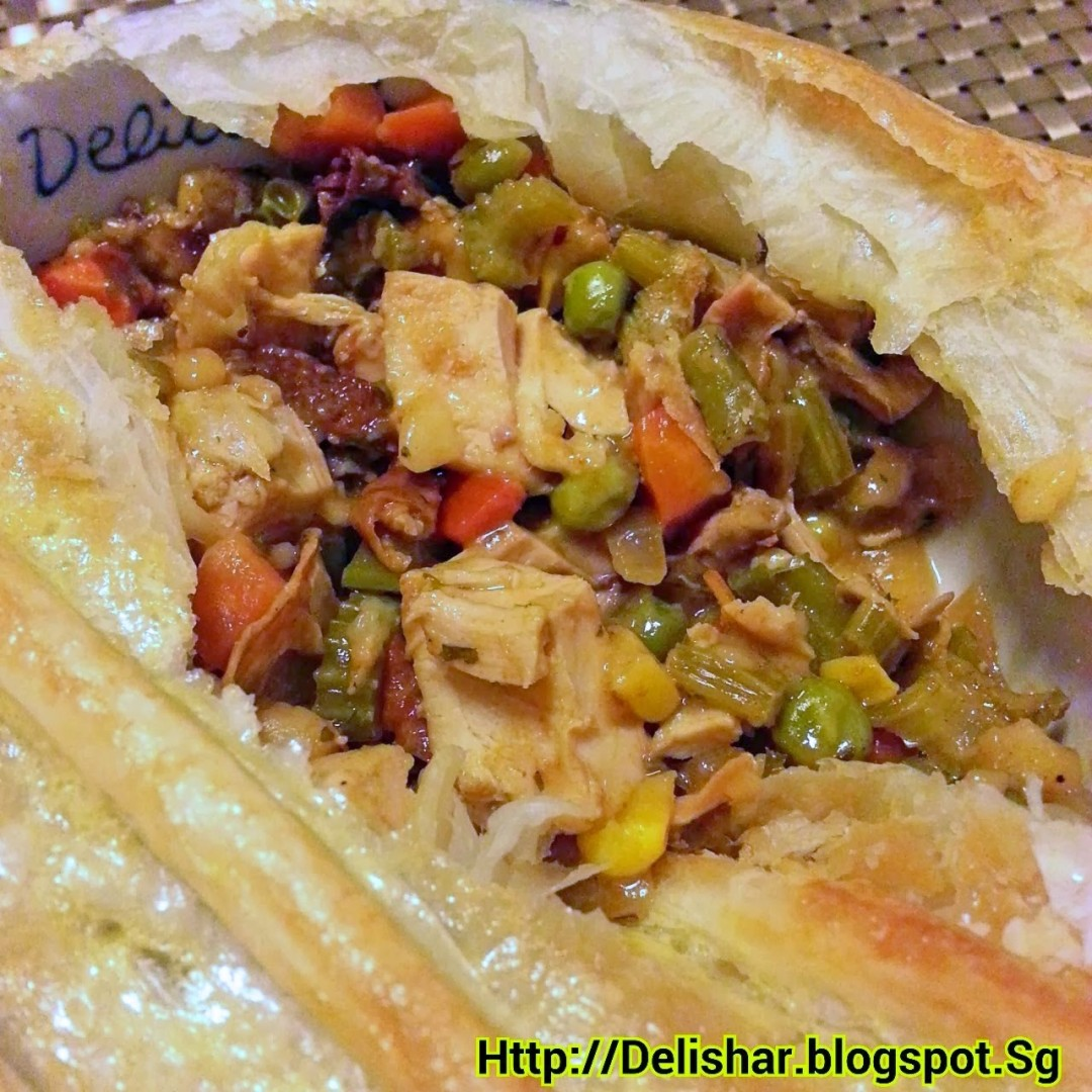 Curried Chicken Pot Pie | Delishar - Singapore Cooking Blog