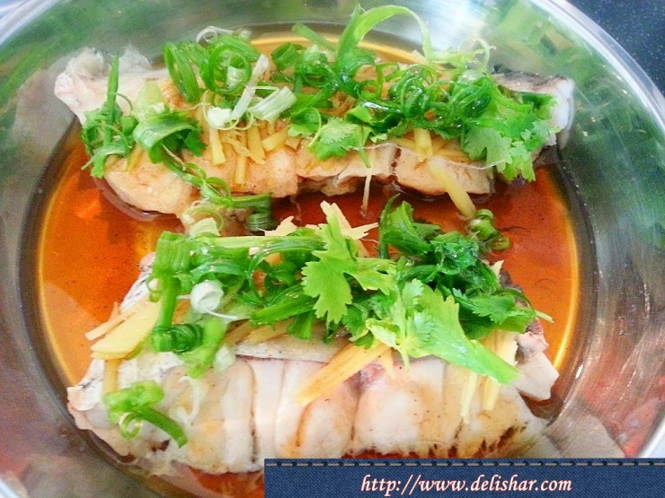 steamed canton fish