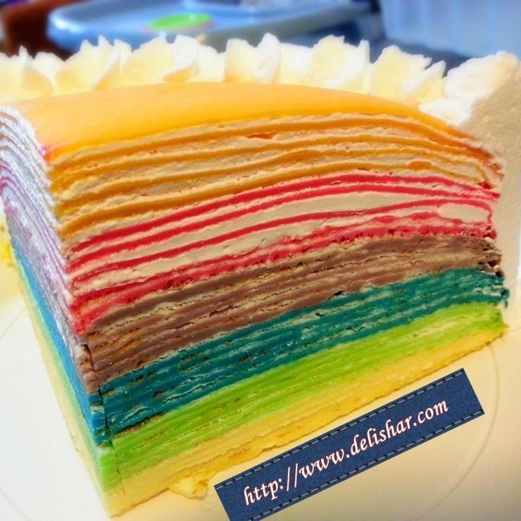 Crepe Birthday Cake Singapore