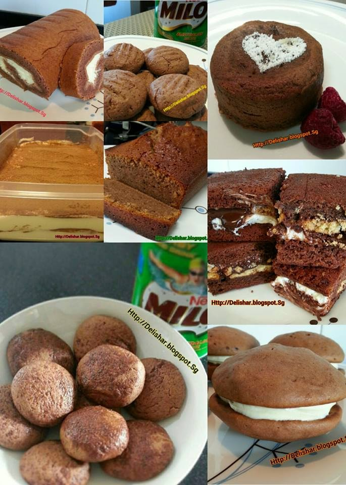Milo recipes round up delishar singapore cooking blog forumfinder Images