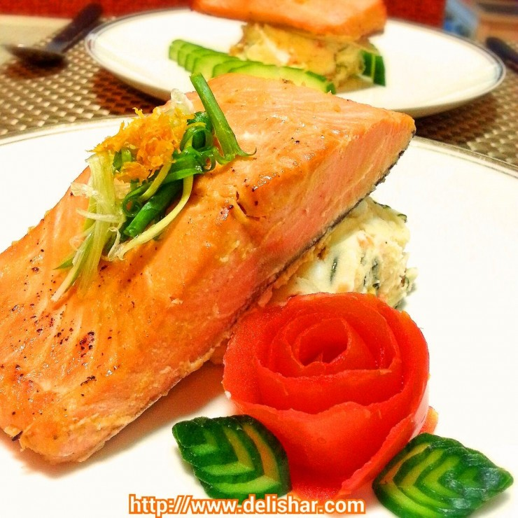 orange miso salmon 1