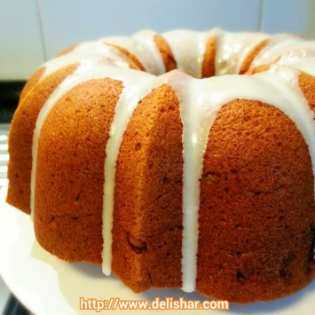 pumpkin struesel cake