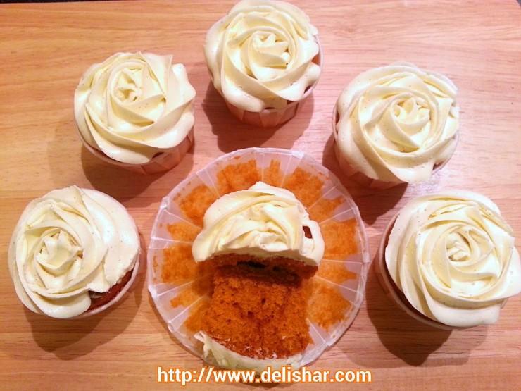 Thai Tea Cupcake 2