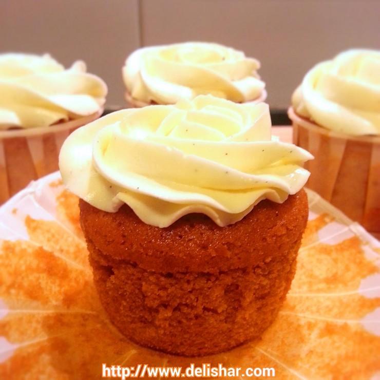 Thai Tea cupcakes 3