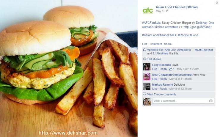 AFC_Satay Burger