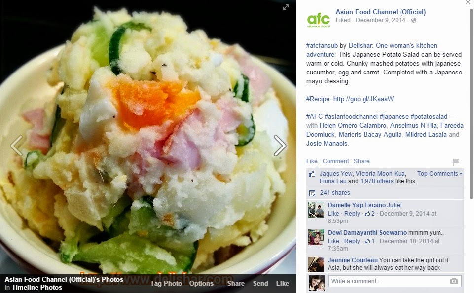 Potato salad afc delishar singapore cooking recipe and food blog potato salad afc forumfinder Gallery