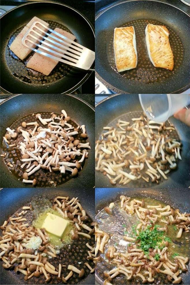 halibut-yuzu-mushroom-butter-sauce-process1