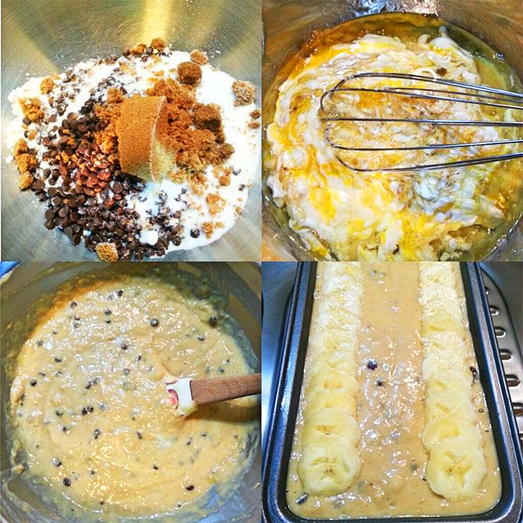 moist-banana-choc-chip-bread-process