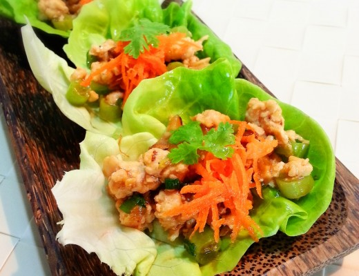 Chicken Lettuce Wrap 1
