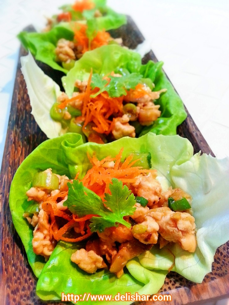 Chicken Lettuce Wrap 2