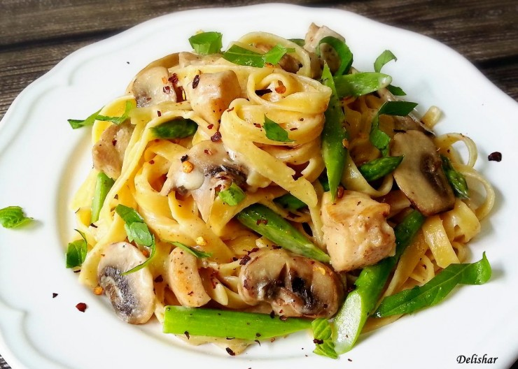 Rosemary Chicken Pasta