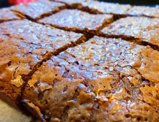 Sea Salt Brownie 1
