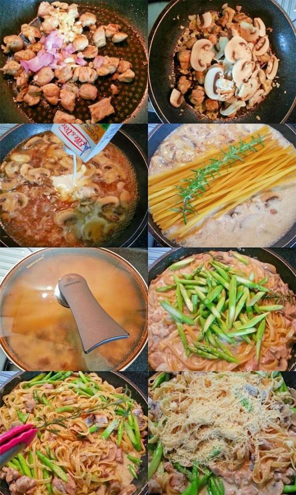 creamy-rosemary-chicken-linguine-process