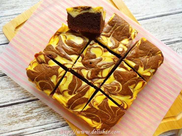 Cheesecake Brownie 1