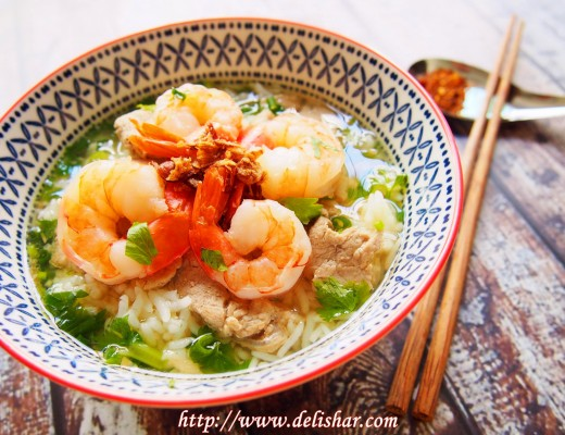 2 thai rice soup