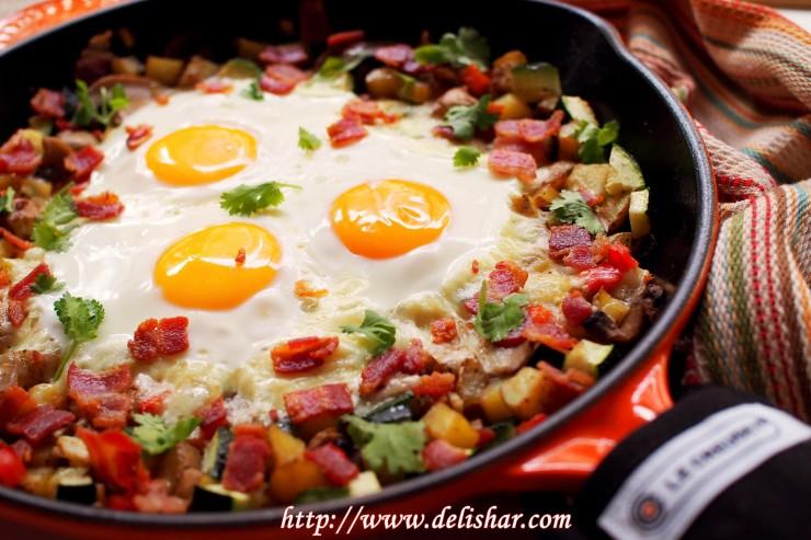 7 breakfast skillet