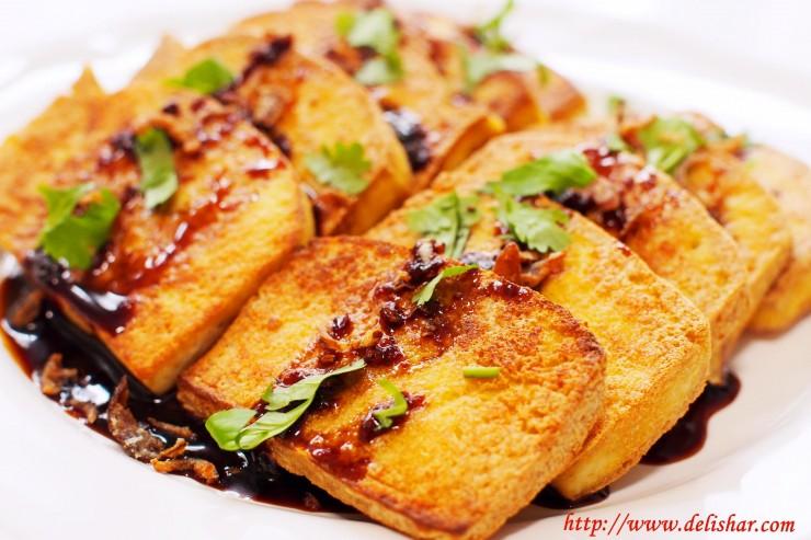black sweet tofu 1