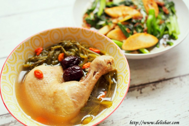 3 watercress chicken soup