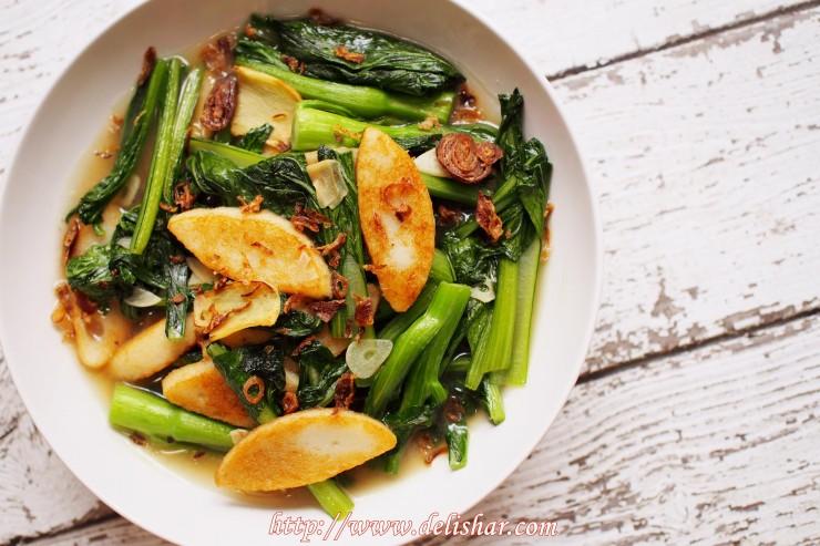 Cai Xin Fish Cake 2