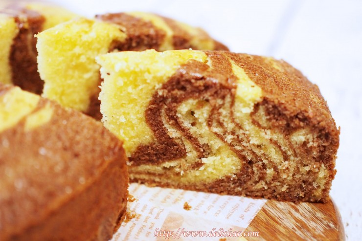 Marble Butter Cake Delishar Singapore Cooking Blog