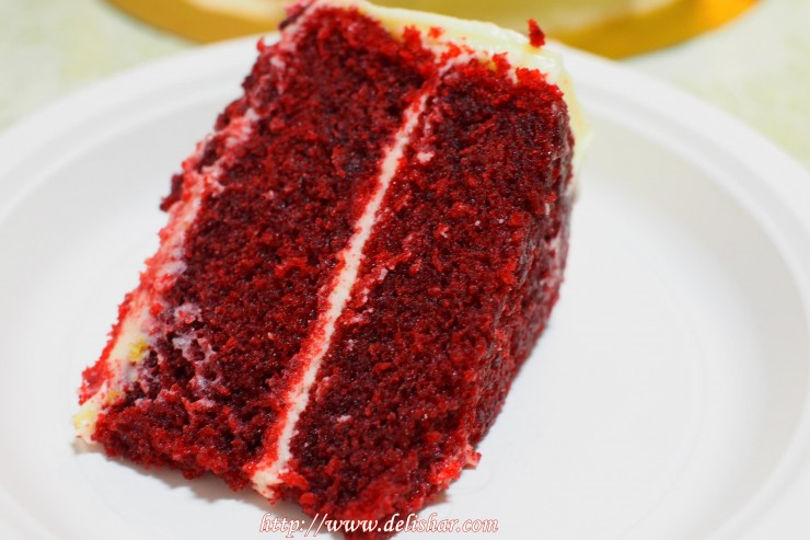 red velvet cross section