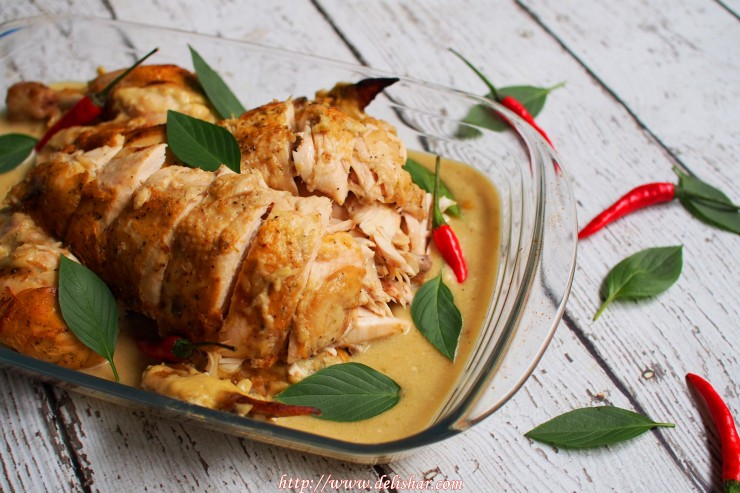 Chicken in Coconut Milk 1