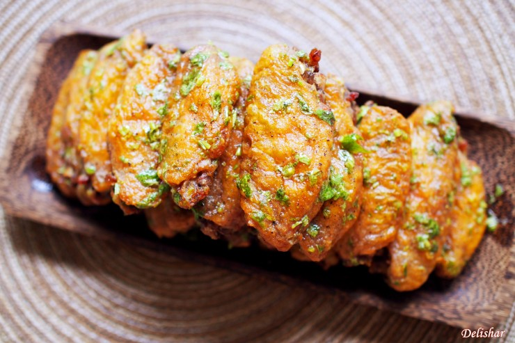 Lime Cilantro Wings 7