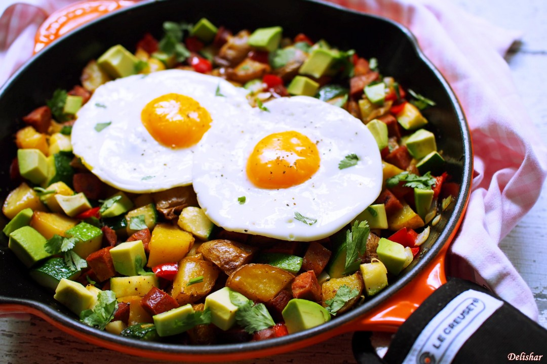 Spanish breakfast hash delishar singapore cooking blog spanish breakfast hash forumfinder Choice Image
