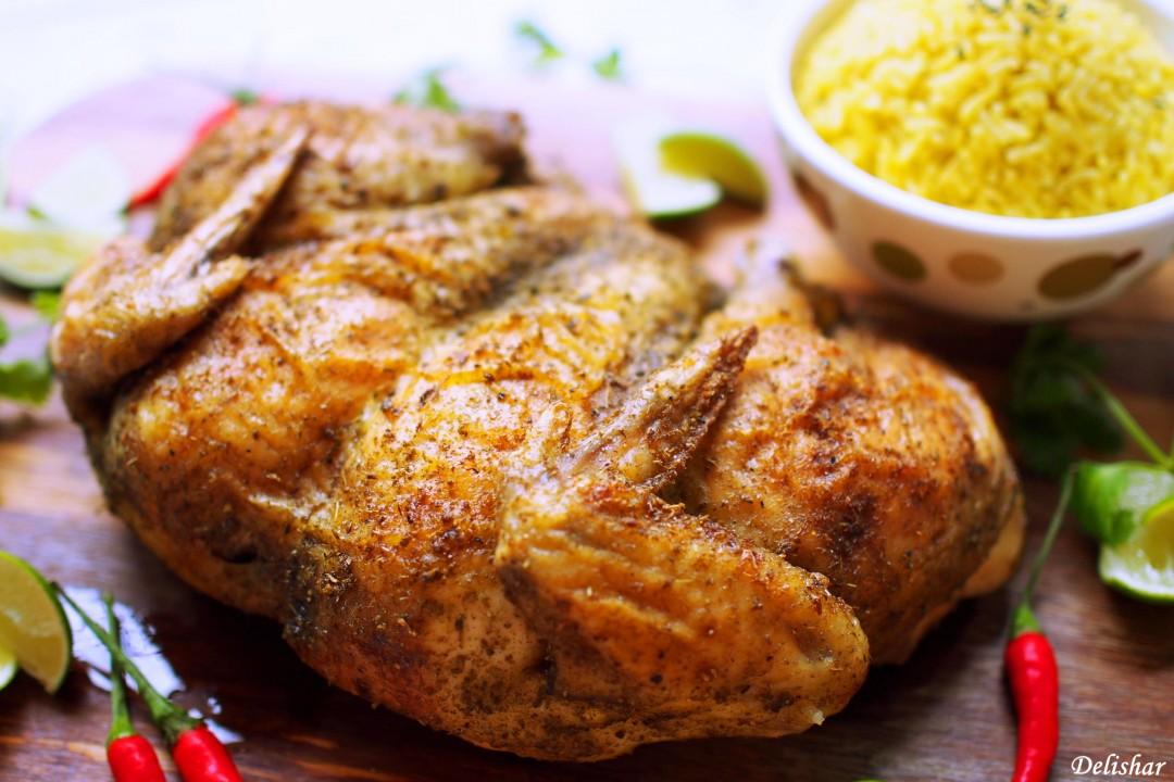 Thai Spatchcock Chicken 1