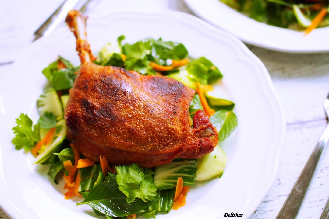 duck confit and celeriac remoulade recipe sbs food duck confit duck ...