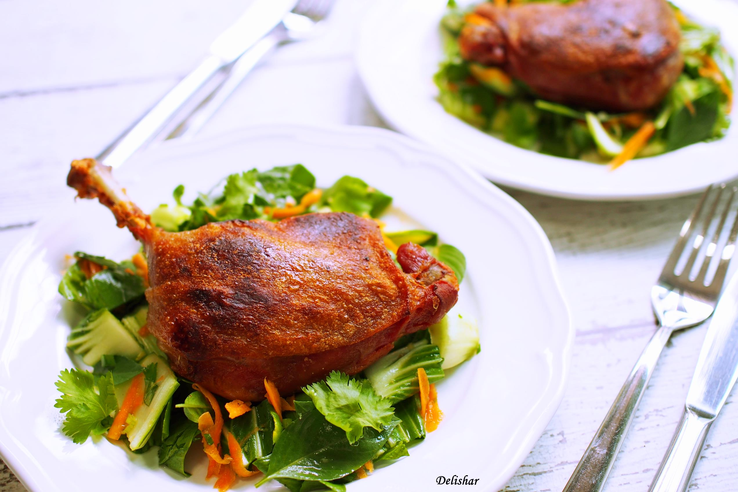 how to cook duck confit