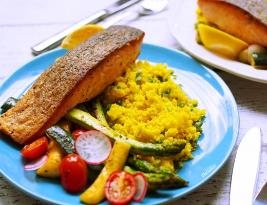 salmon with couscous 2