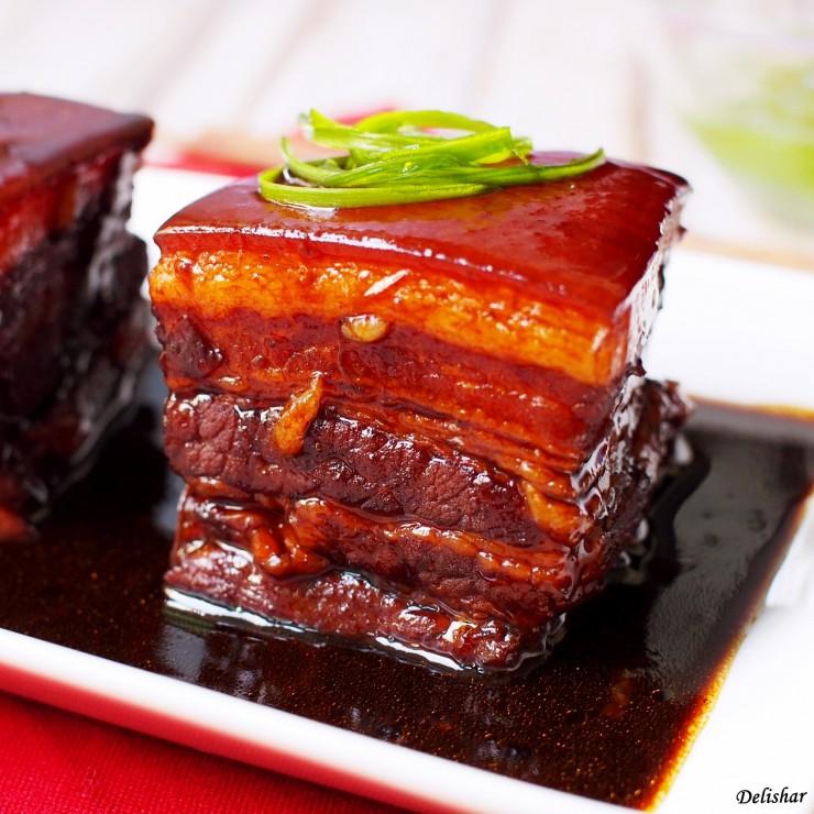 Dong Po Rou (Braised Pork Belly) | Delishar - Singapore ...