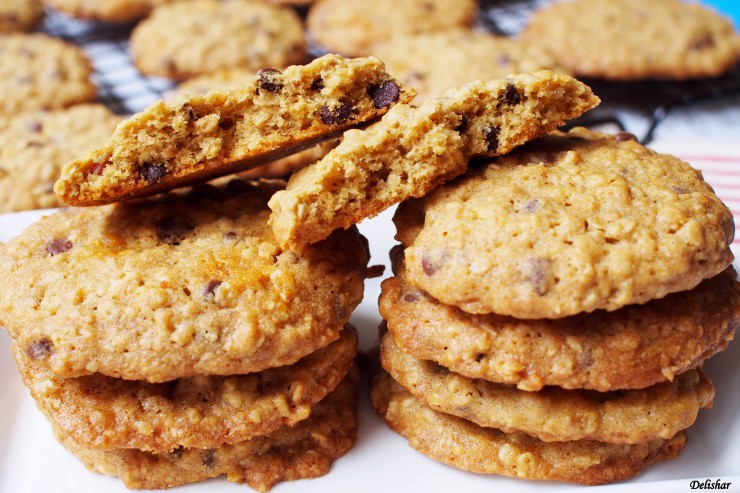 Double Chips Oatmeal Cookies 3