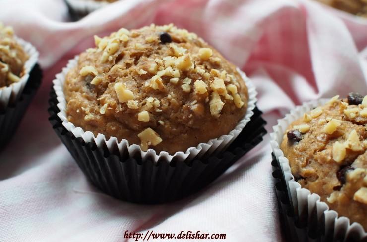 banana nut muffins 4