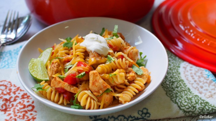 Chicken Fajita Pasta 4