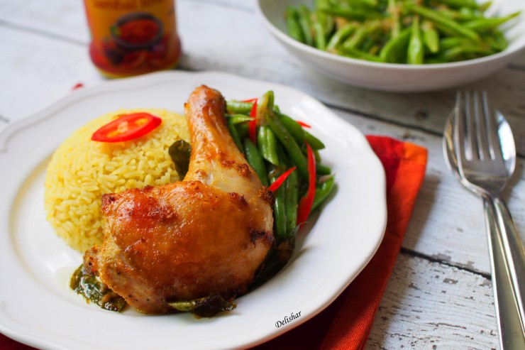 Lemongrass Turmeric Chicken 1