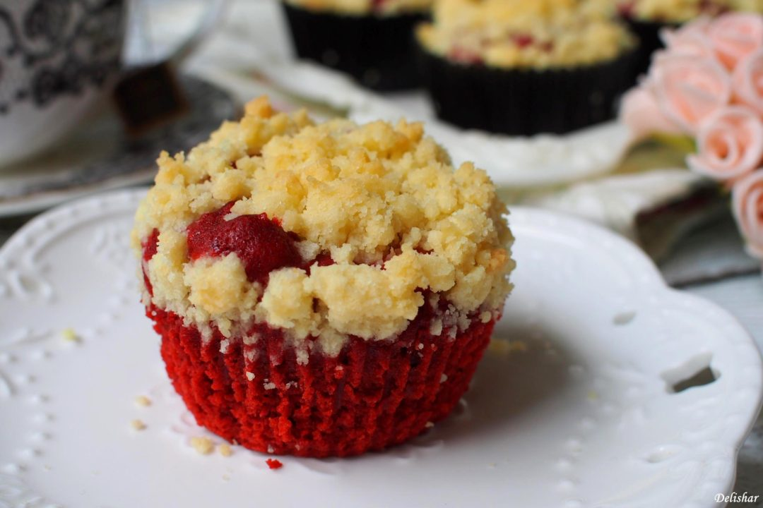 Red Velvet Cream Cheese Muffins | Delishar - Singapore Cooking Blog