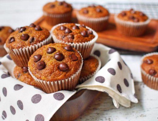 Banana Chocochips Muffins 1