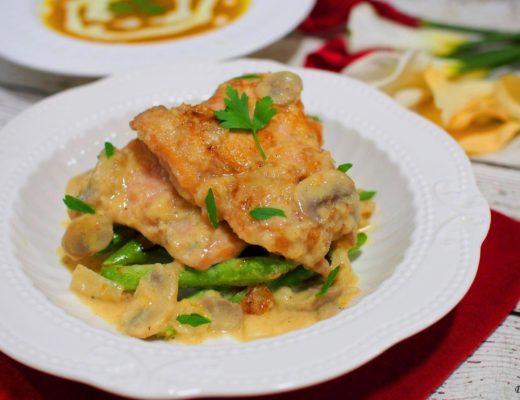 Chicken in Creamy Mushroom Sauce 2