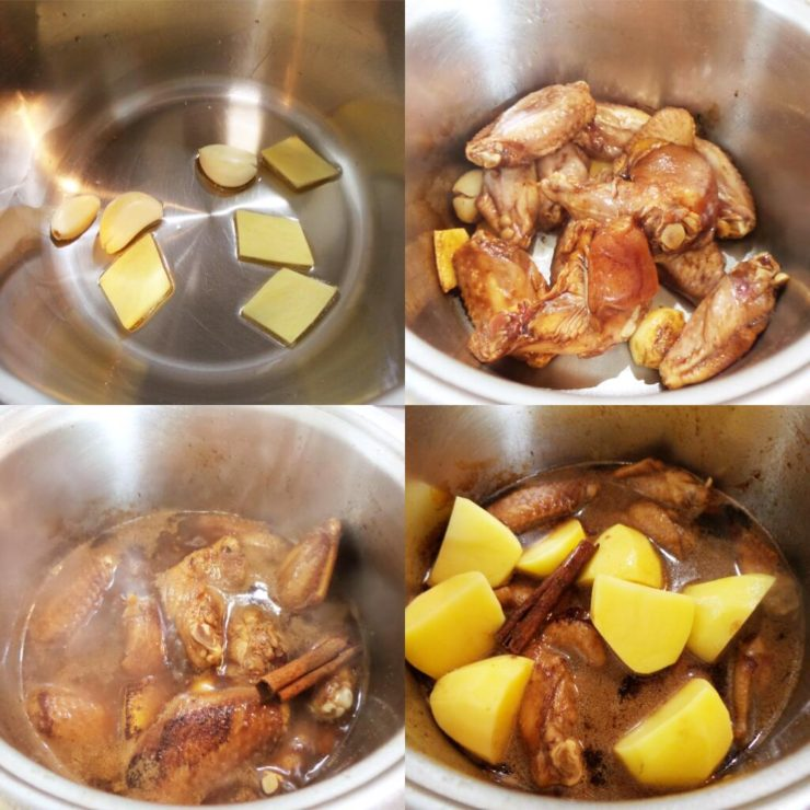 how to make soy braised chicken
