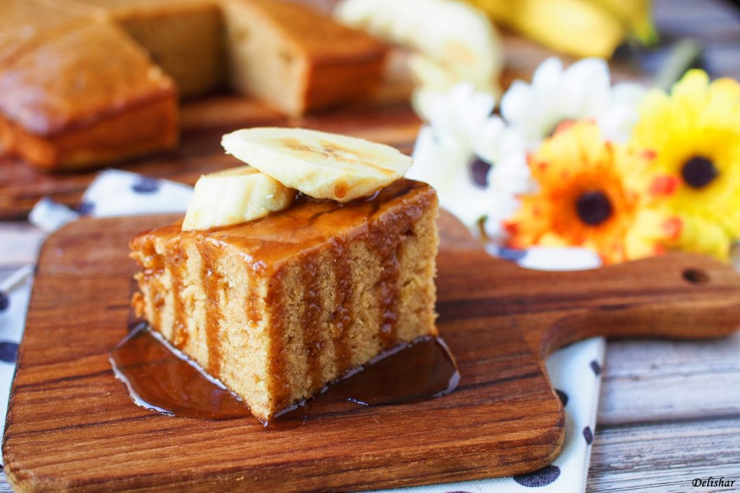 26 Banana Toffee Cake
