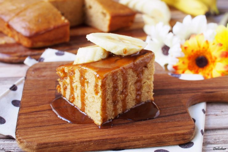 Banana Toffee Cake 1