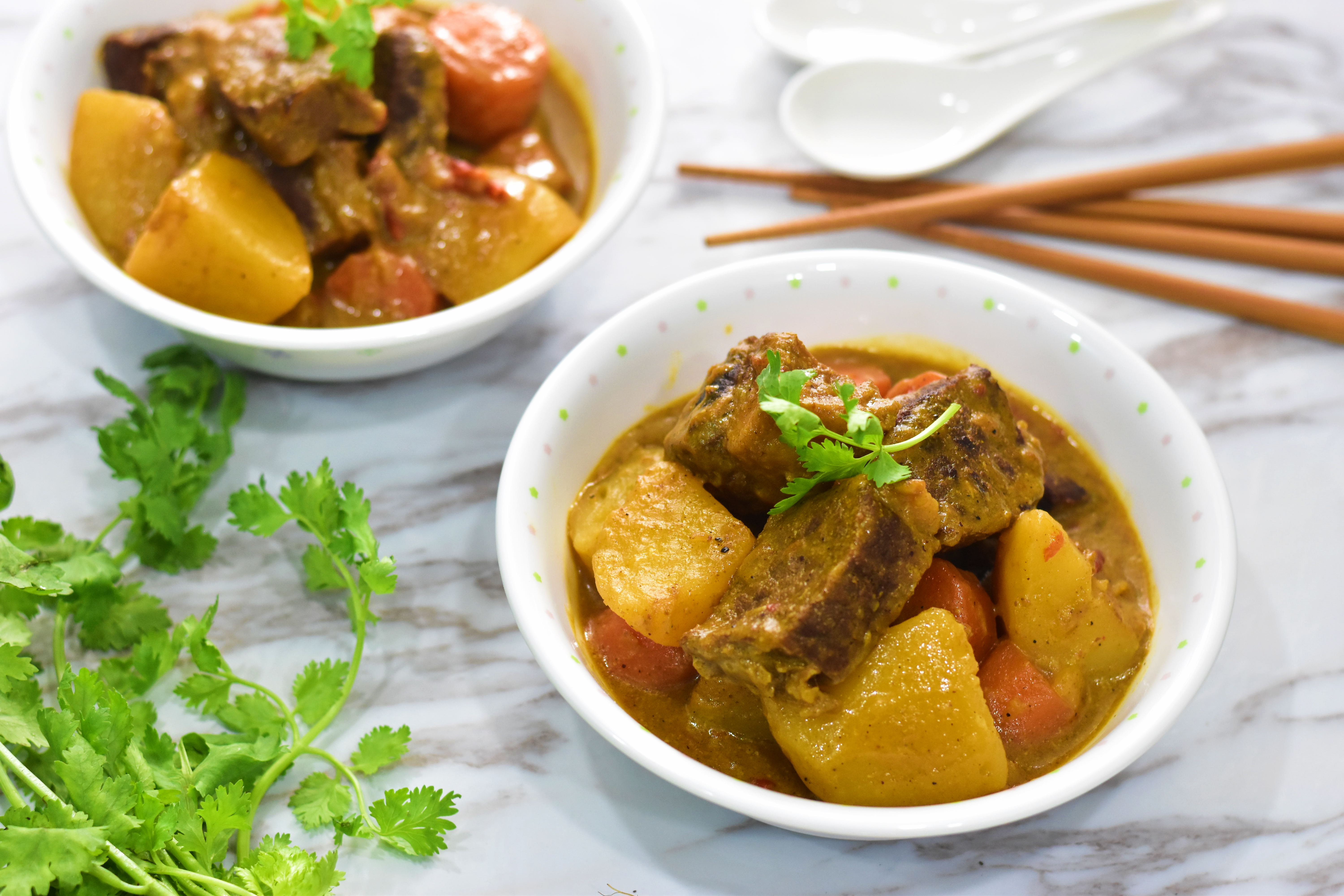 Beef Brisket Curry 咖哩牛腩 Delishar Singapore Cooking Recipe And Food Blog