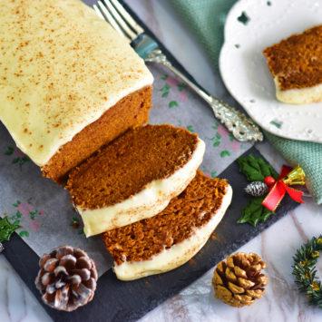 Spiced Pumpkin Gingerbread Loaf
